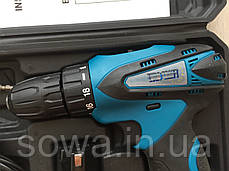 ✔️ Шуруповерт акумуляторний Euro Craft ECCD222 ( 12 Вт , Li-Ion , 1.5 А/ч ), фото 2