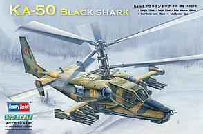 """Ка-50 """"Черная акула"""". Сборная пластиковая модель вертолета в масштабе 1/72. HOBBY BOSS 87217"""
