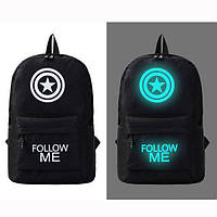 Светящийся городской рюкзак с usb зарядкой + замок (Follow ME)