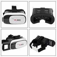 ШЛЕМ виртуальной реальности VR BOX 2 + Пульт 3D Очки