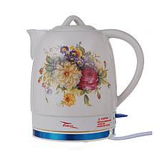 Чайник керамический Octavo 2л, електрочайник TyT