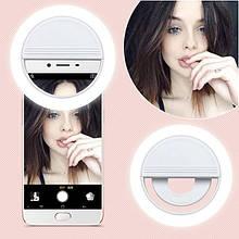 Светодиодное Кольцо Для Селфи Selfie Ring Light лампа TyT