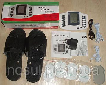 Импульсный массажер — миостимулятор, электростимулятор, домашняя физиотерапия