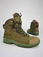 Ботинки тактические Командос нубук на мембране хаки, фото 1