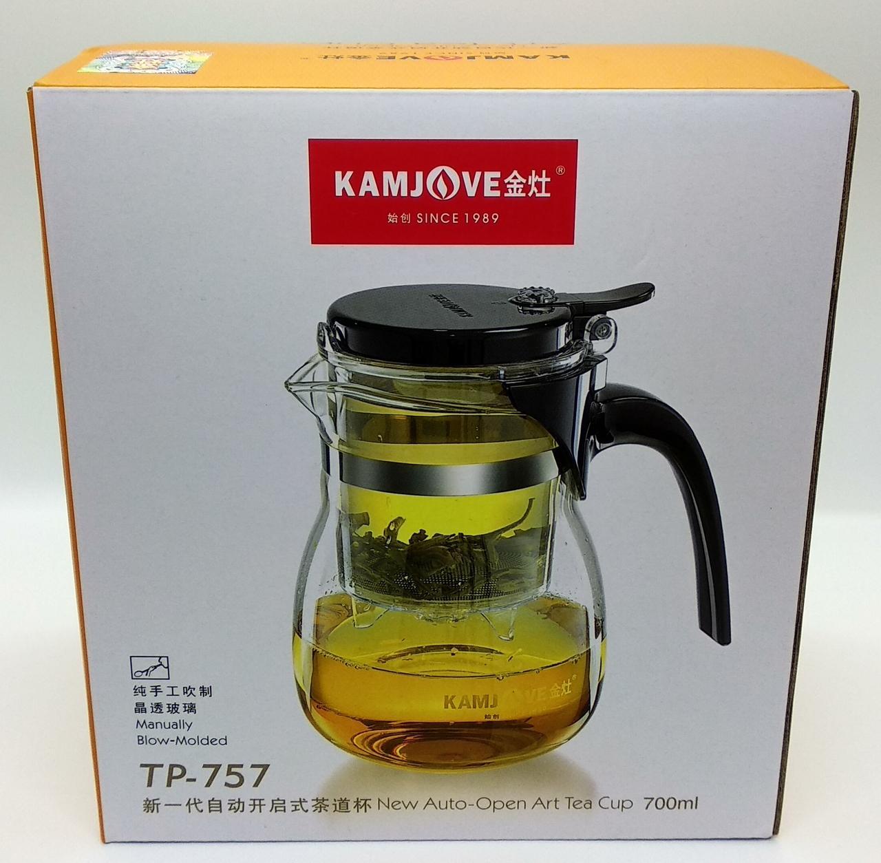 Заварочный чайник Гунфу Kamjove 700 мл (TP-757). Лучшая цена!