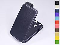 Откидной чехол из натуральной кожи для Huawei Y3C Y336