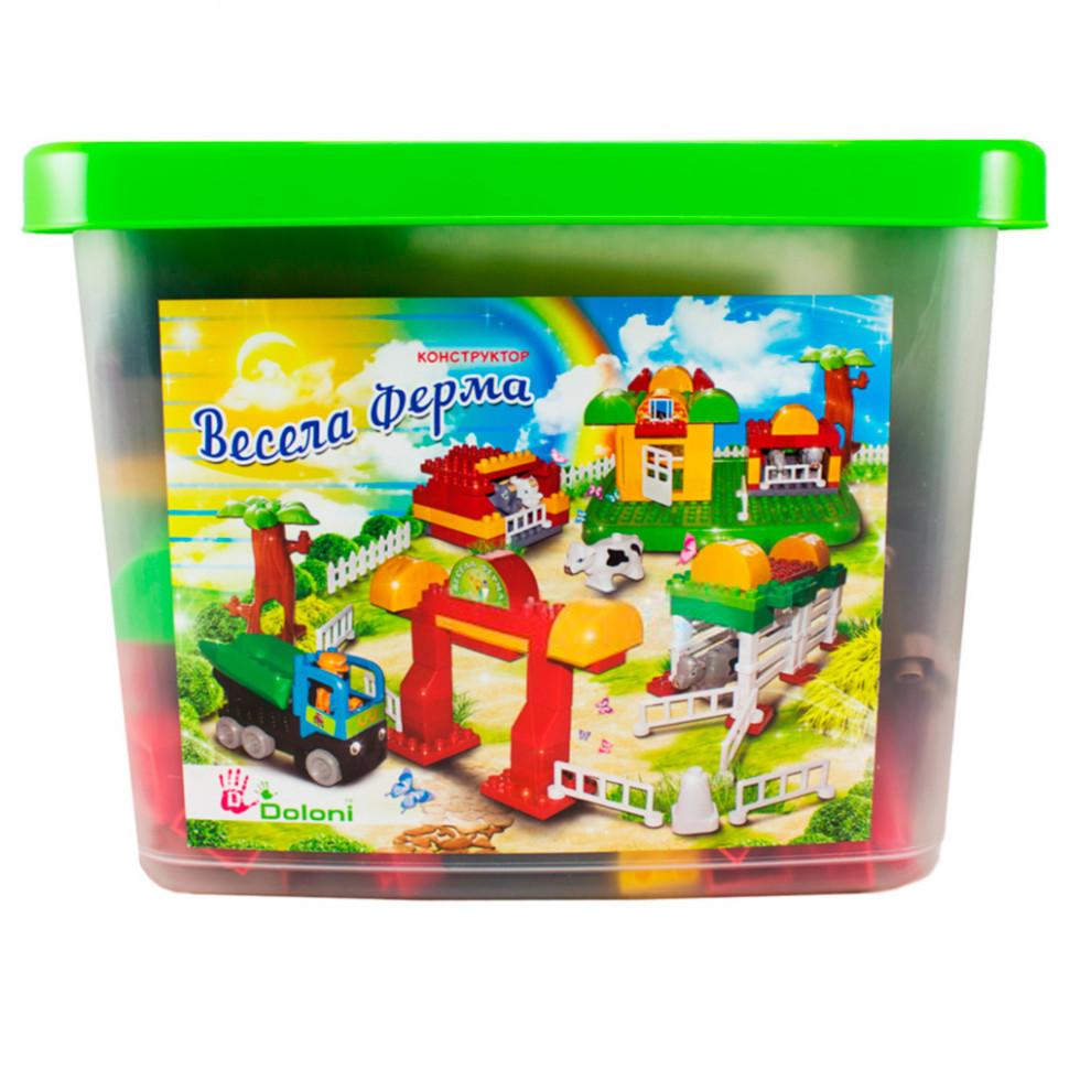 """Конструктор """"Весела ферма"""" 013888/06, развивающая игрушка, подарок для ребенка"""