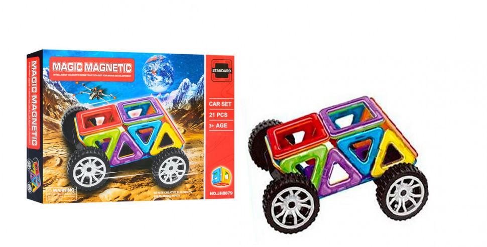 Конструктор JH8879 магнитный, развивающая игрушка, подарок для ребенка