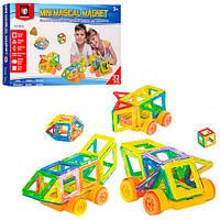 Конструктор M032 магнитный, развивающая игрушка, подарок для ребенка