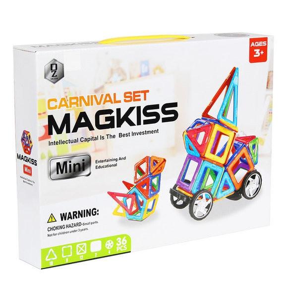 Конструктор магнитный HD340A, развивающая игрушка, подарок для ребенка