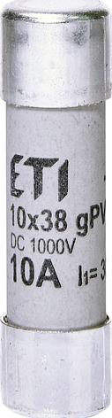 Предохранитель ETI CH gPV DC 10Х38 25А 2625139, фото 2