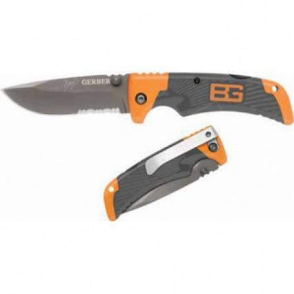 Складной нож Gerber Scout Bear Grylls с прищепкой (Длина 18 см.) TyT