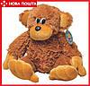 Мягкая игрушка Алина Обезьянка 75 см коричневая