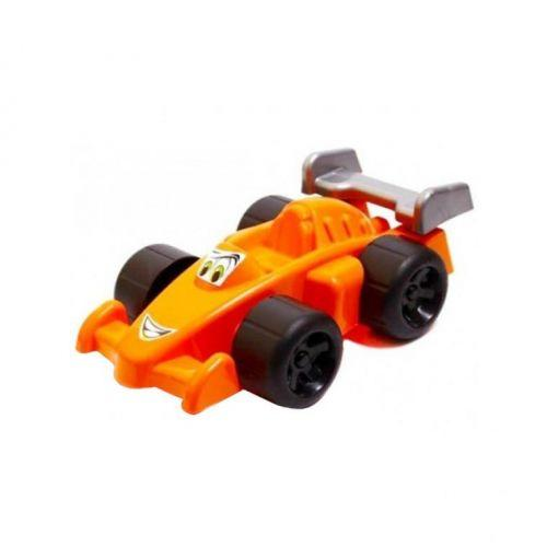 Гоночный автомобиль Формула Максик ТехноК оранжевый. 1165