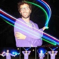 Волшебный палец с разноцветный светодиодный наконечник свет Иллюзия мягкий стандартный размер 2 шт комплект 1
