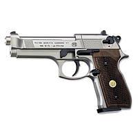 Пневматический пистолет Beretta M 92 FS (никель, дерево), фото 1