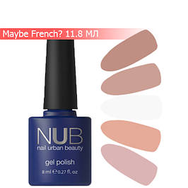 NUB Maybe French? Collection гель-лак, 11.8 мл