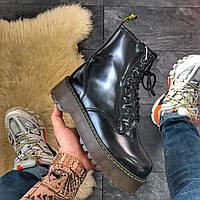 Женские ботинки Dr Martens Jadone Black МЕХ