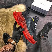 Кроссовки Balenciaga Triple Red Black