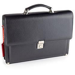 Портфель мужской Eminsa 7011-37-1 кожаный черный