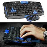 Беспроводная игровая клавиатура и мышка в комплекте. TyT, фото 3