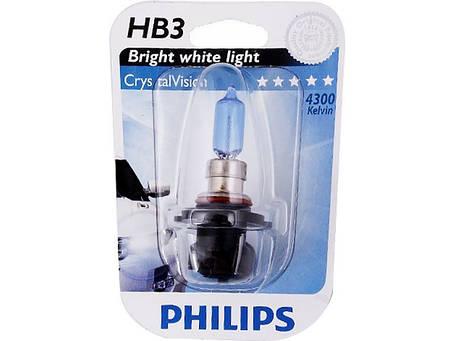 Галогенная лампа HB3 (9005) Philips 9005CVB1 CrystalVision, фото 2