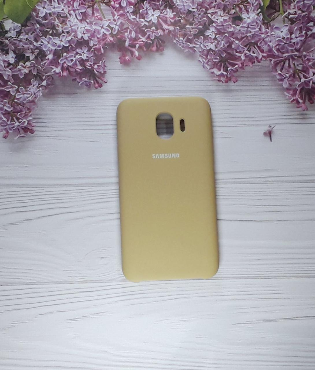 Чехол накладка Soft Touch на Samsung J4 (2018), J400, Mocco