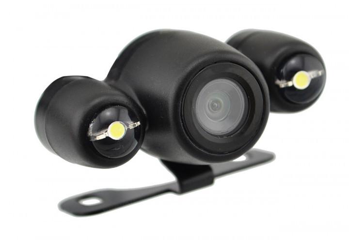 Универсальная автомобильная камера заднего вида Falcon QWYZD цветная c led подсветкой, автокамера