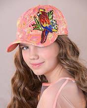 Дитяча кепка для дівчинки Dan & Dani Росія 42089P-45 Помаранчевий