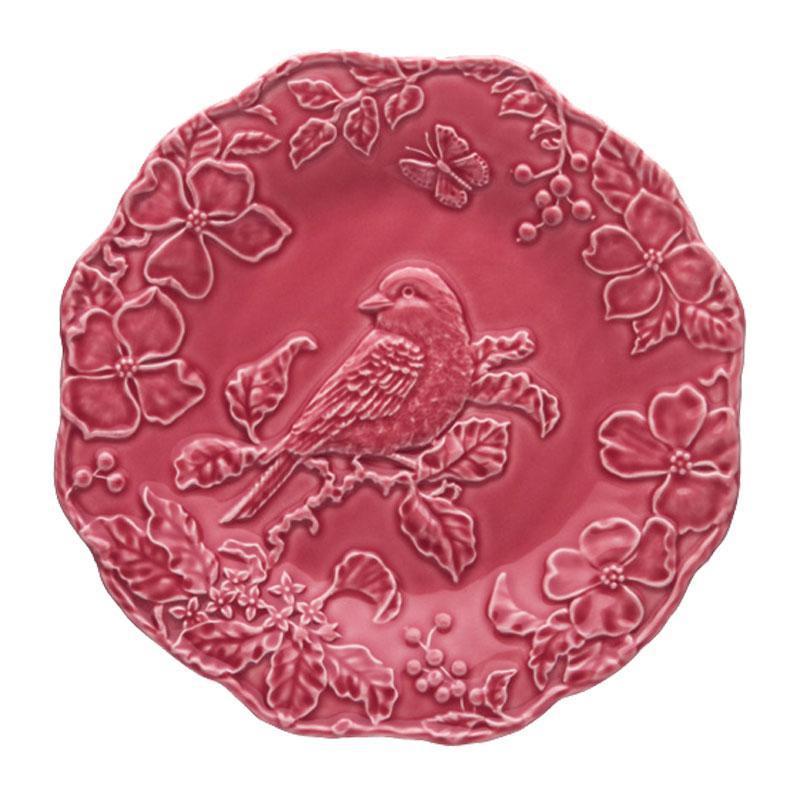 Тарелка обеденная Португалия Bordallo Синяя птица 25 см