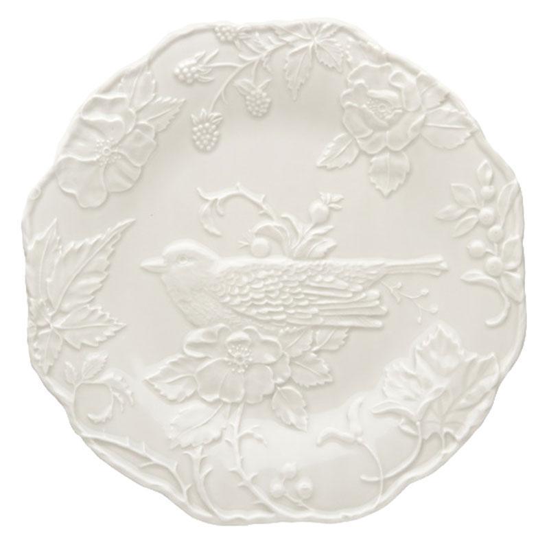 Тарелка обеденная Португалия Bordallo Птица Робин 25 см