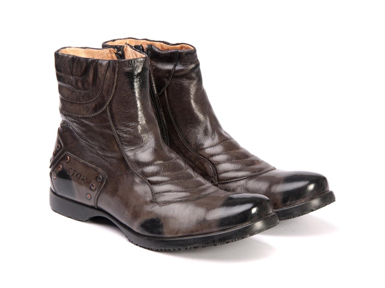Сапоги  Etor 7181-494-1592 40 коричневые