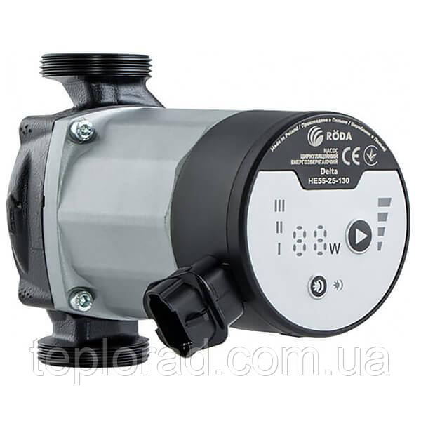 Циркуляционный энергосберегающий насос Roda Delta HE35-25-130