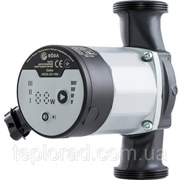 Циркуляционный энергосберегающий насос Roda Delta HE35-25-180