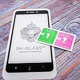 Защитное стекло Honor 3D Xiaomi Redmi 4a black, фото 2