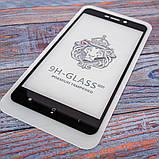 Защитное стекло Honor 3D Xiaomi Redmi 4a black, фото 4