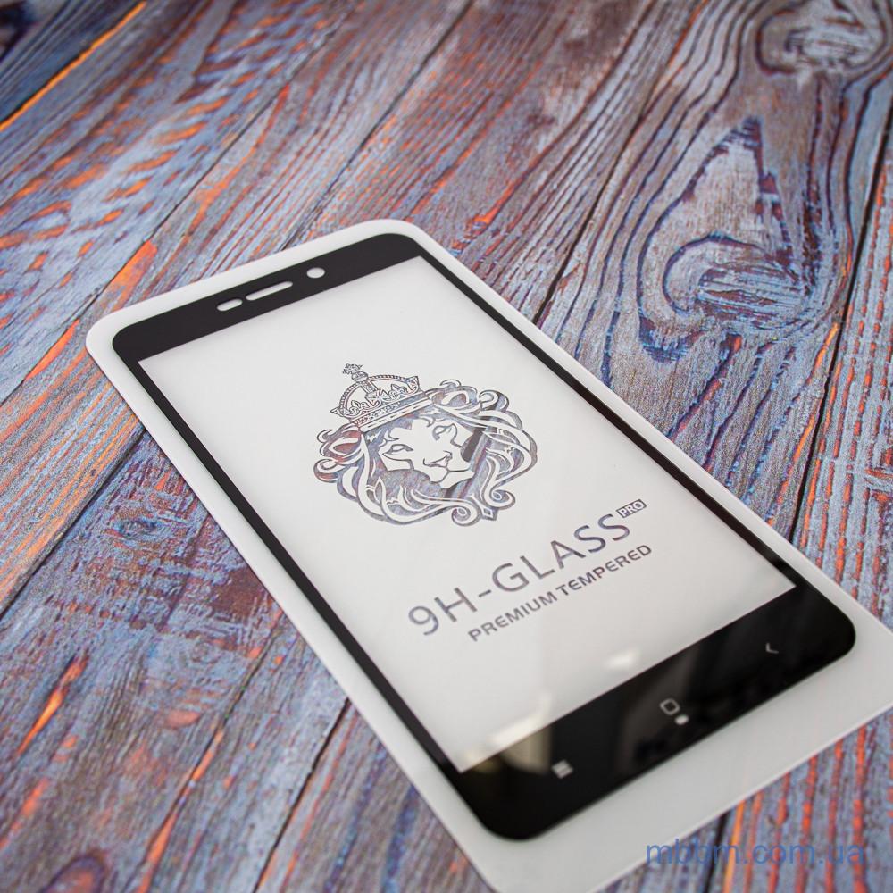 Защитное стекло Honor 3D Xiaomi Redmi 4a black 4A