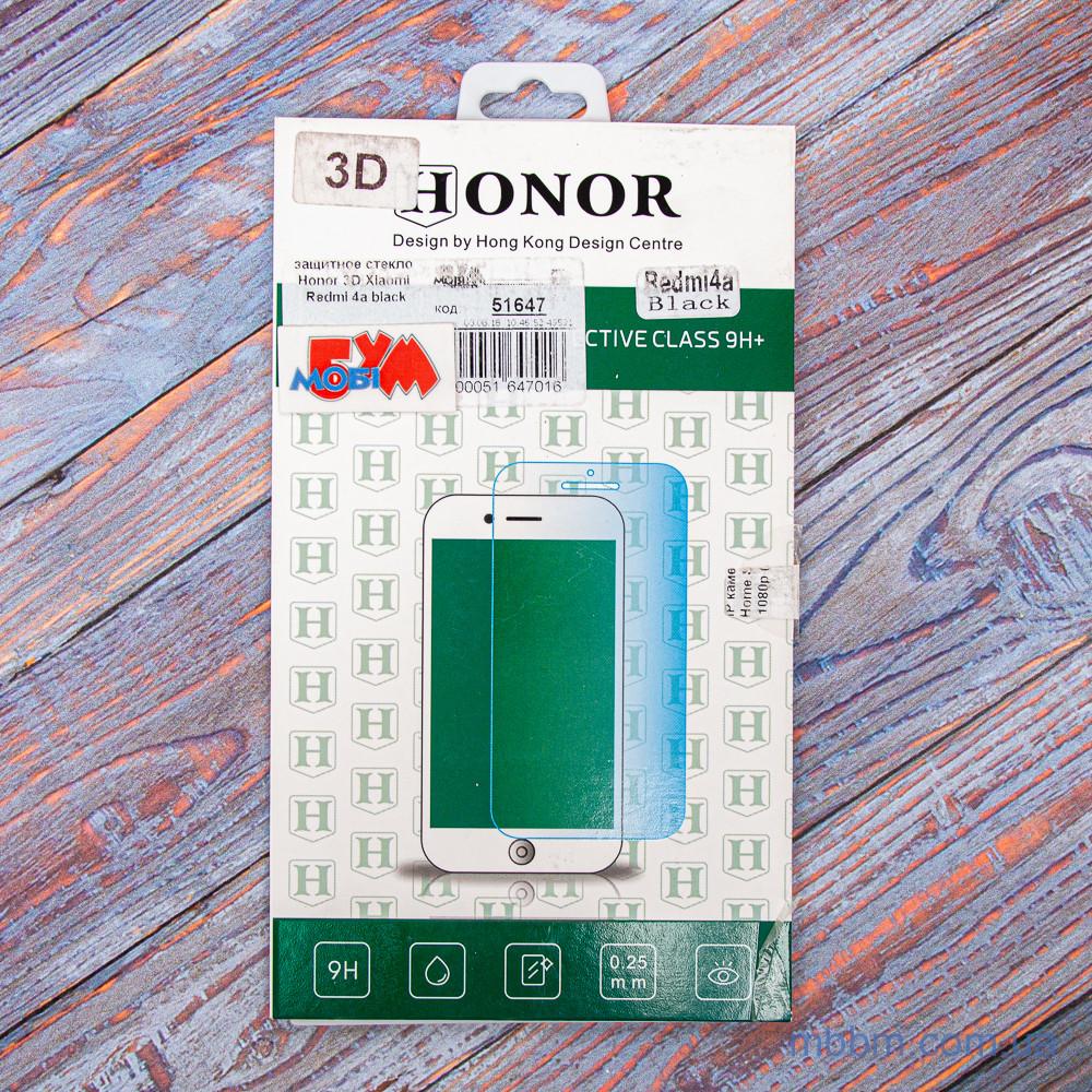 Защитное стекло Honor 3D Xiaomi Redmi 4a black