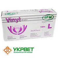 Перчатки виниловые для сбора спермы SFM