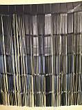 Черный дождик для фотозоны матовый - (высота 2,45 метра, ширина 92см), фото 2