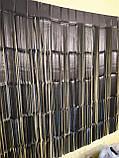 Черный дождик для фотозоны матовый - (высота 2,45 метра, ширина 92см), фото 3