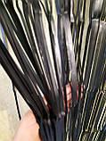 Черный дождик для фотозоны матовый - (высота 2,45 метра, ширина 92см), фото 4
