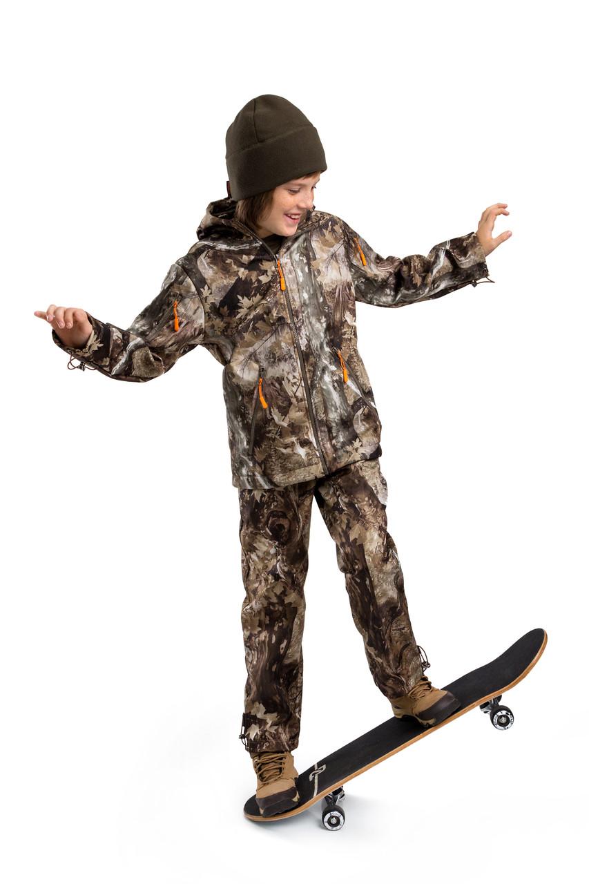 Детский камуфляж костюм OUTDOOR теплый Вулкан Платан