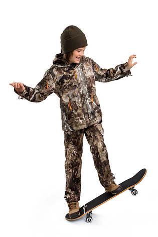 Детский камуфляж костюм OUTDOOR теплый Вулкан Платан, фото 2