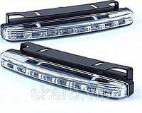 Дневные ходовые огни ДХО по 8 LED ламп TyT