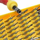 Набор отверток инструментов 32 в 1, для ремонта телефонов и электроники TyT, фото 4