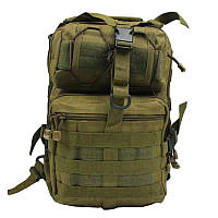 Сумка, рюкзак для охоты, рыбалки, туризма MHZ A92 800D 20 л, койот