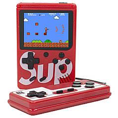 ☀Портативная игровая консоль Ретро Sup Game box Red 400 игр в 1 приставка для геймеров денди