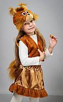 Детский карнавальный маскарадный костюм Белки, возраст 2-7 лет, S 9916