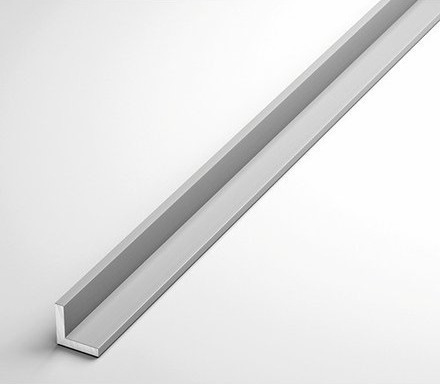 Уголок алюминиевый 80х40х3 анодированный